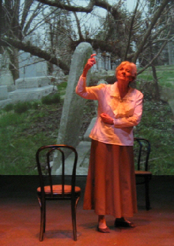 Lee Meriwether in The Women of Spoon River: Their Voices from the Hill