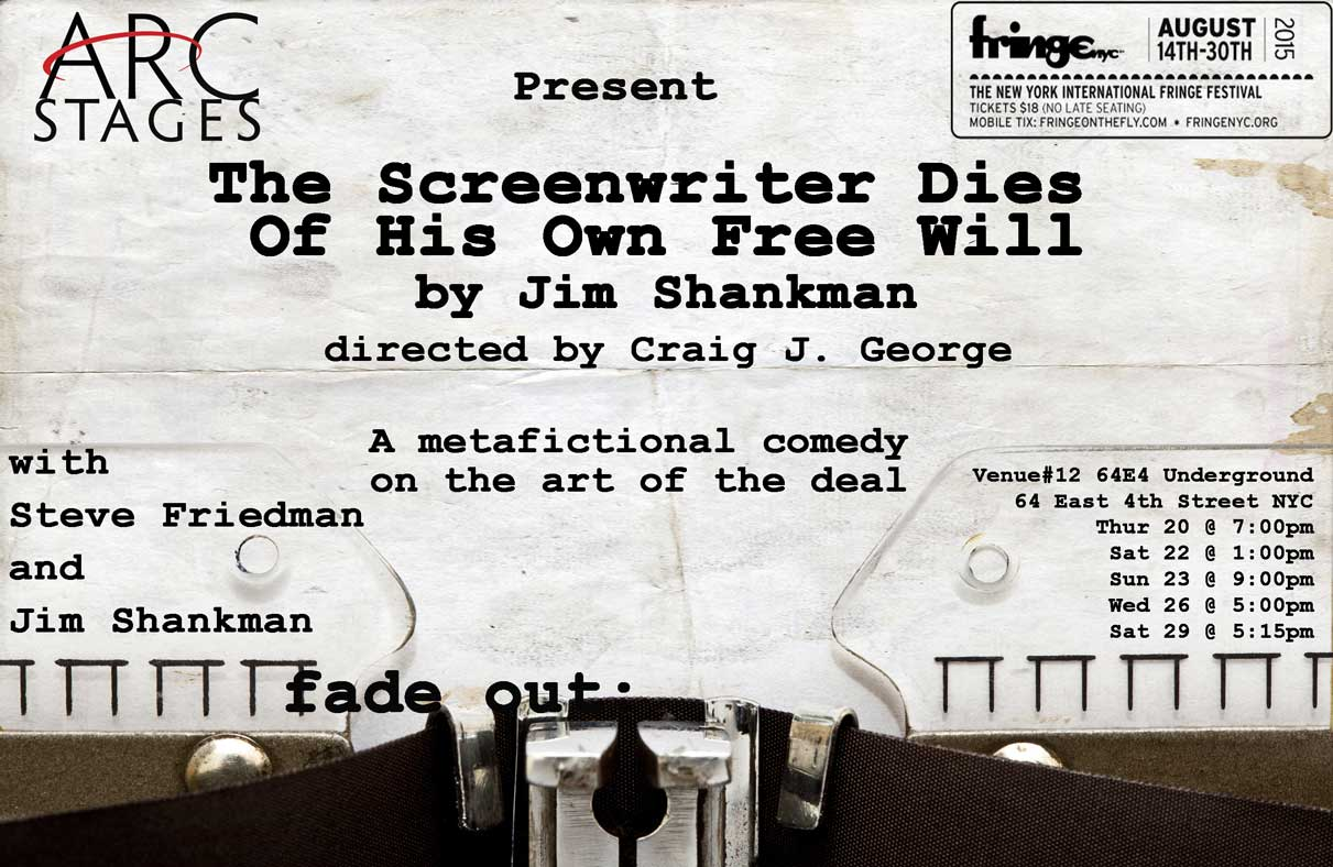 The Screenwriter Dies Of His Own Free Will