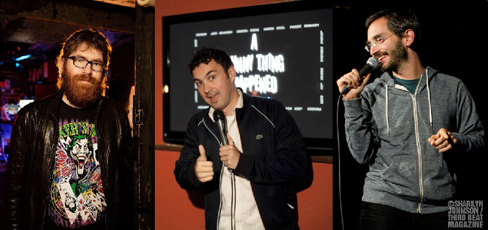 Mike Lawrence, Mark Normand, and Myq Kaplan