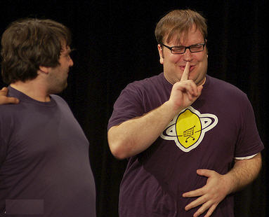 John Gemberling and Gavin Speiller