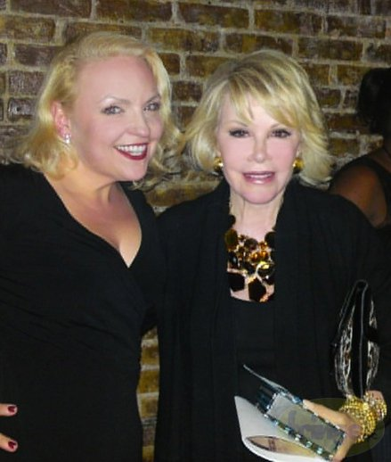 Faye Lane and Joan Rivers