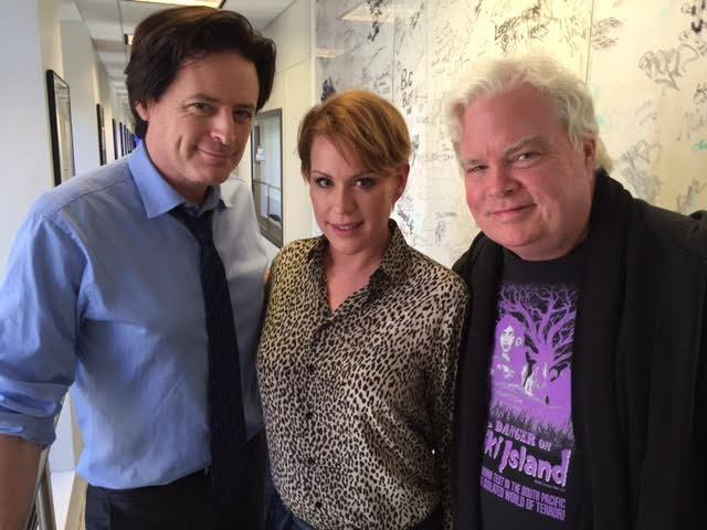 John Fugelsang, Molly Ringwald, and Frank Conniff