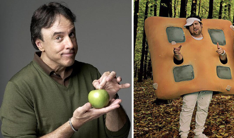 Kevin Nealon and Connor Ratliff