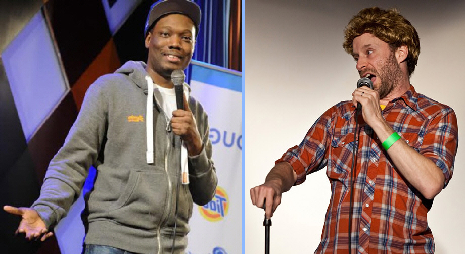Michael Che and Jon Glaser