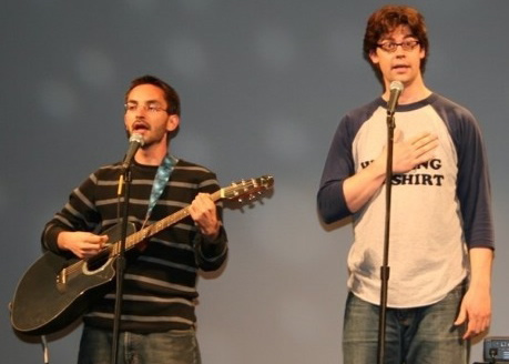 Myq Kaplan and Micah Sherman