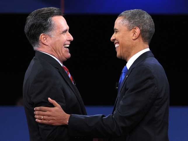 Mitt and Barack Masks