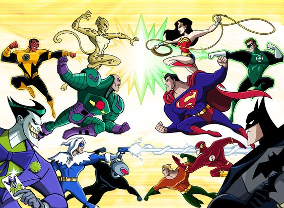 Superheroes vs. Supervillains