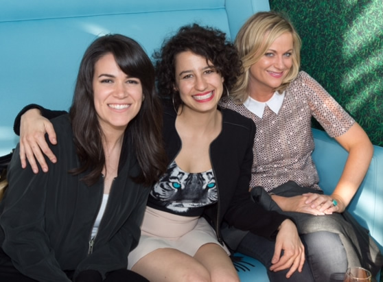 Broad City: Abbi Jacobson, Ilana Glazer, and Amy Poehler