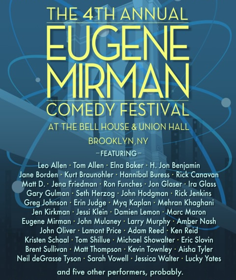 The Eugene Mirman Comedy Festival