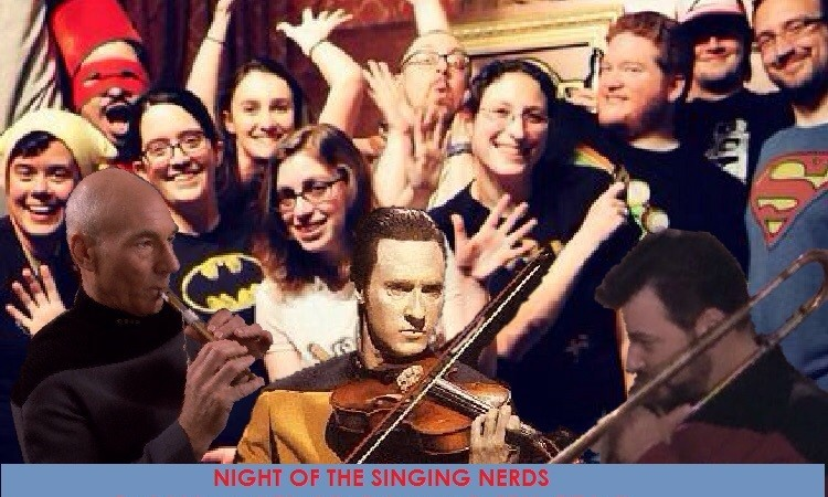 Redshirts and Choirfly: Night of the Singing Nerds
