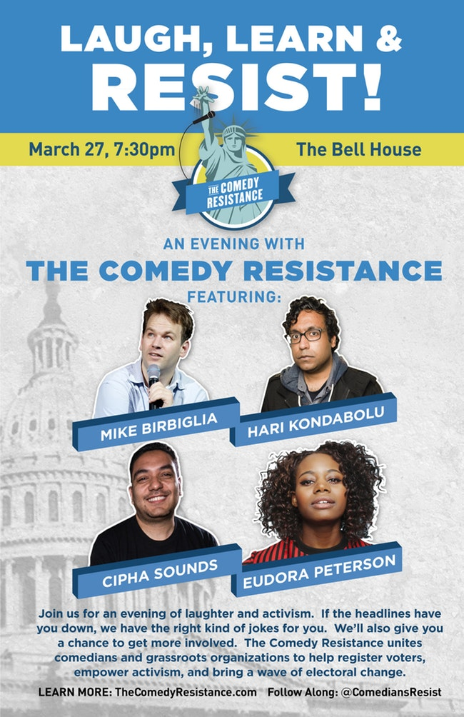 An Evening with The Comedy Resistance: Mike Birbiglia, Hari Kondabolu, and More