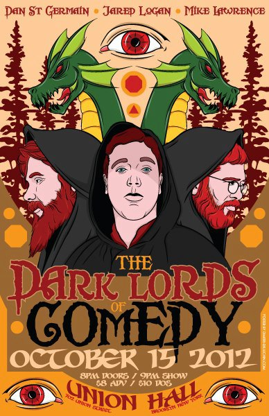 The Dark Lords of Comedy
