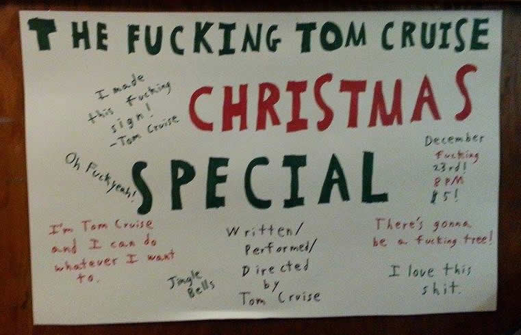 The Fucking Tom Cruise Christmas Special