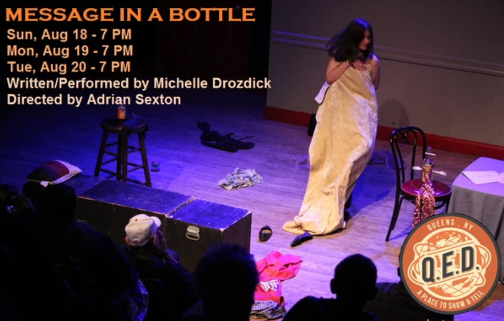 "Michelle Drozdick: ""Message in a Bottle"""