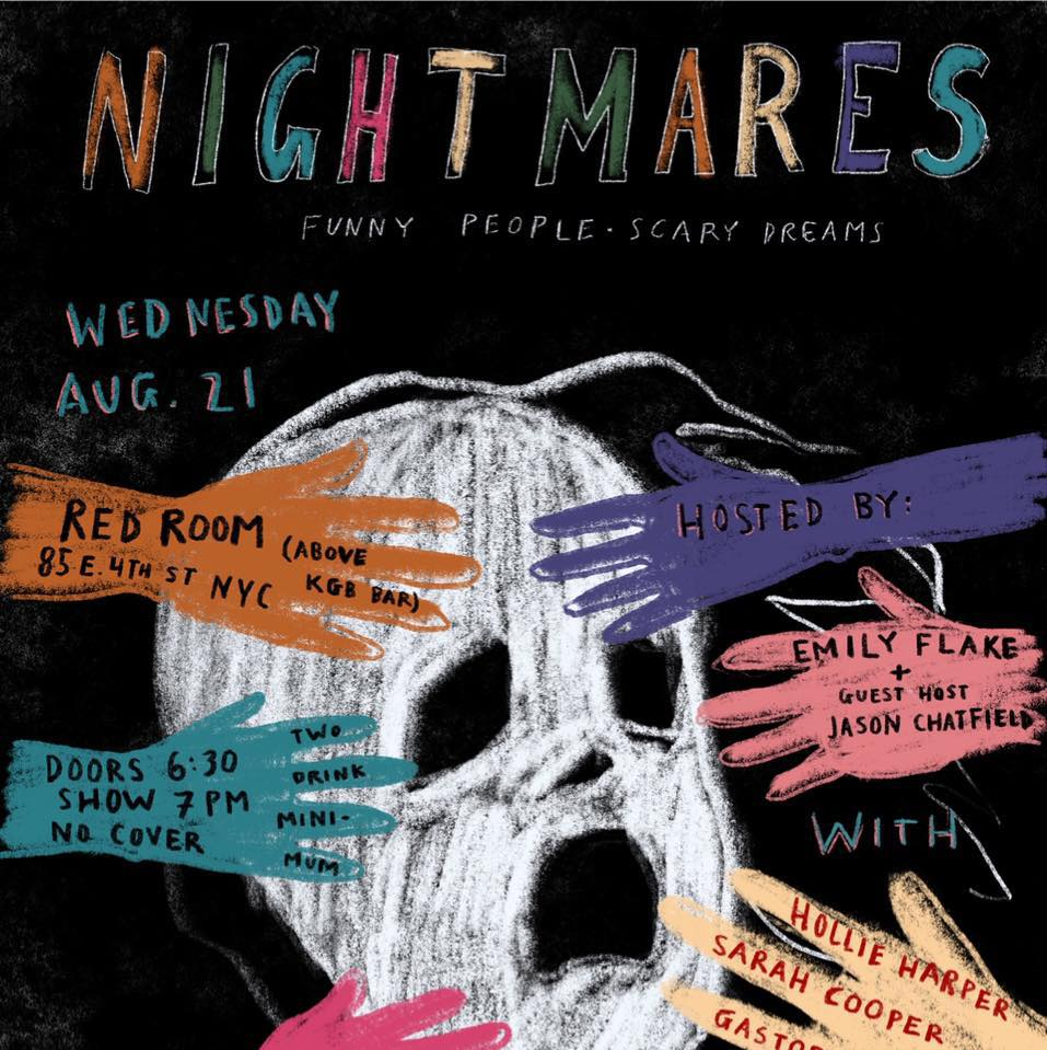 "Emily Flake & Jason Chatfield: ""Nightmares: The Best People Tell Their Worst Dreams"""