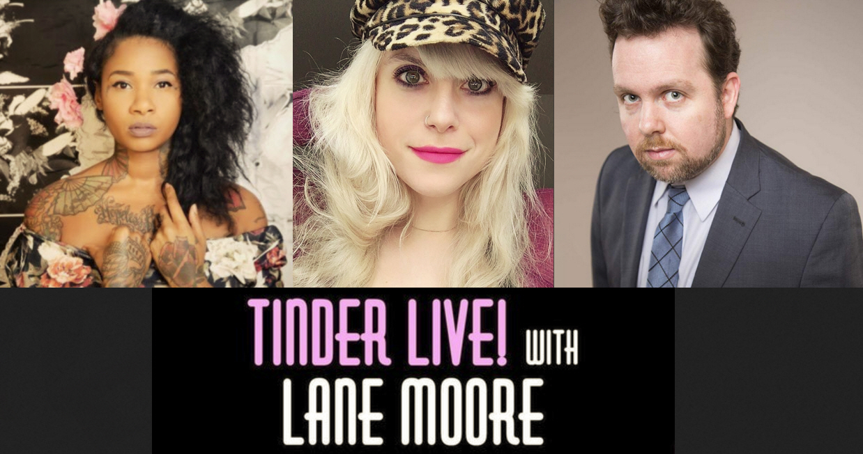 "Jean Grae, Lane Moore, Connor Ratliff, and Chase Mitchell: ""Tinder Live"""
